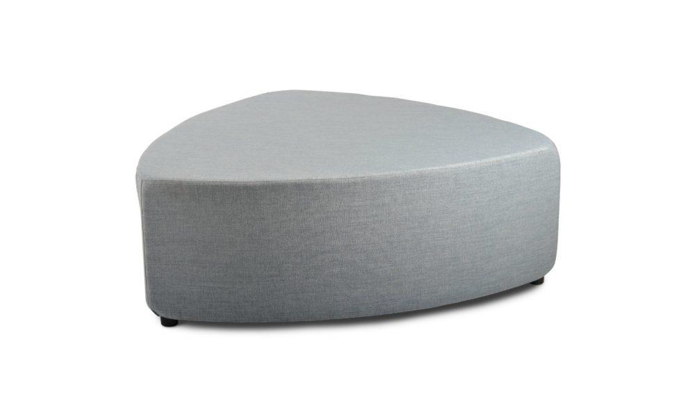 grey ottoman
